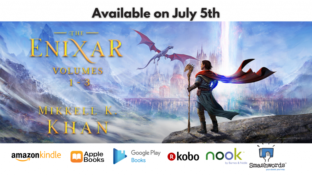 The Enixar Book Set Available on July 5th Promotion